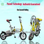 Dynavolt Patent Technology CE 1 Second Folding Electric Bike-MS0010
