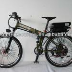 Wholesale New Off Road Electric Bike 48V 1000W Foldable Frame + 48V 20Ah Rear Rack Li-ion Battery in Flat Aluminium Case-48V 1000W