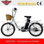 250W Cheap Steel Frame Electric Bike with EN15194 and EN14764 (EL09)-EL09