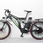 2014 New 48V 1000W Electric bicycle ebike Fastspeed Front+Rear Suspension,48V 20AH Li-ion Battery Shima Hydraulic Disc Brake-48V 1000W Super X8 Ebike