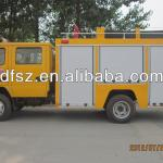 Dongfeng fire fighting truck with Cummins engine EURO 4 emission