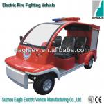 Electric fire fighting vehicle, small size, CE approved