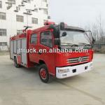Manufacturer Dongfeng 4*2 water&foam fire fighting truck