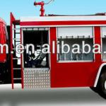 water tank fire fighting truck for sale