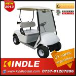 light weight windshield golf car with rear seat-