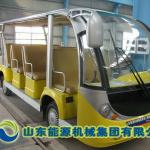 Electric sightseeing bus-