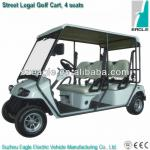 Street legal golf cart, 4 seaters, EG2048KR, EEC approved, L7e-