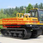 full rubber dumper in stock self-dumping crawler dumper-