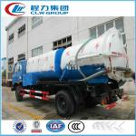 Combined Vacuum Tanker and Sewer Flushing Truck-CLW5109XW