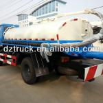 new arrival China Dongfeng 145 4*2 sucking fecal tanker truck-SZD5163GXE4