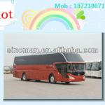 55 seats new manual luxury tour bus for sale