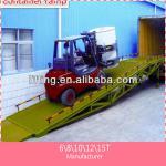 6,8,10 ton car hydraulic loading dock ramps
