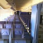 B747-168 aircraft seats