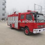 Dongfeng 3500L water tank fire fighting truck