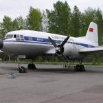 Ilyushin IL-14 plane