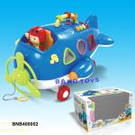 Pull String Plane with Music BNB400002