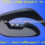 Yutong black plastic fold up seat armrest Bus bus seat armrest for sale