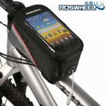 2013 New Cycling Bike Bicycle Frame Pannier Front Tube Bag For All Cell Phone-13052801