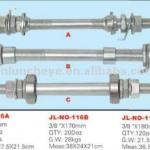 Steel bicycle hub axle Hebei Factoy Manufacture-