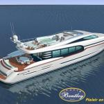 115' (35m) BENTLEY YACHTS-