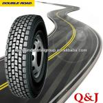 steel radial bus tire and truck tyre 11R22.5, 12R22.5, 13R22.5 TBR traction tyre- DOUBLE ROAD, ROADLUX, TRIANGLE, DOUBLE STAR-
